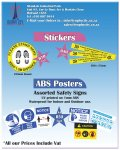 ABS POSTERS AND STICKERS