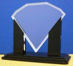 ACRYLIC DIAMOND TROPHIES